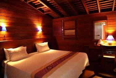 La décoration des chambres de l'hôtel Le Jardin Malanga