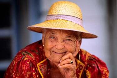 Mamie Saintoise de Guadeloupe !