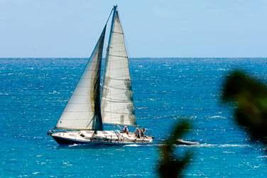 Excursion en voilier en Guadeloupe