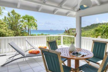 En cottage standard terrasse, une très belle vue sur la baie