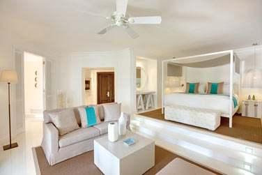 La Suite honeymoon est spacieuse et confortable... Une Suite idéale en amoureux !
