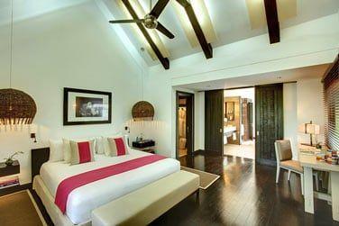 La chambre principale de la Villa Océan