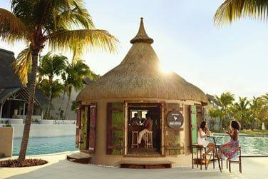 Le nouveau bar de la piscine Mari Kontan