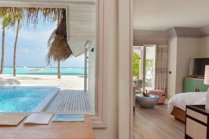 grande villa plage retreat avec piscine