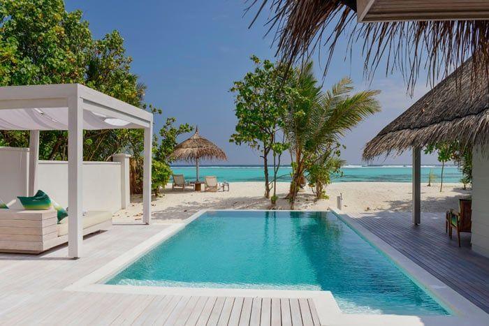 villa plage retreat avec piscine