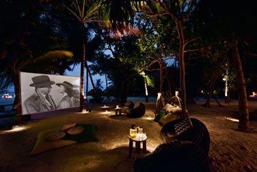 Profitez d'une séance de cinéma en plein air!