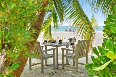 Ou encore un repas dans un décor paradisiaque sur l'île de Jehunuhura!