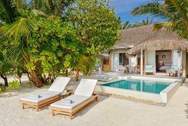 Les grandes villas plage avec piscine