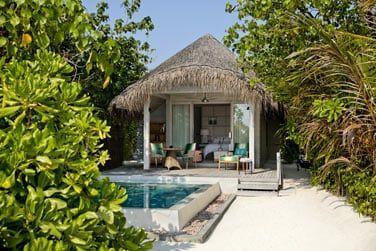La villa plage avec piscine