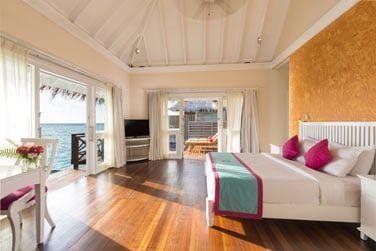 Une chambre agréable à la décoration moderne!