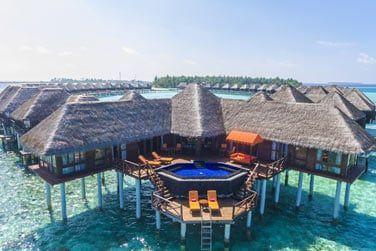Et le must de l'hôtel Sun Aqua Vilu Reef