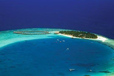 Une petite île située dans l'atoll sud de Nilandhe à 35 minutes de Malé en Hydravion
