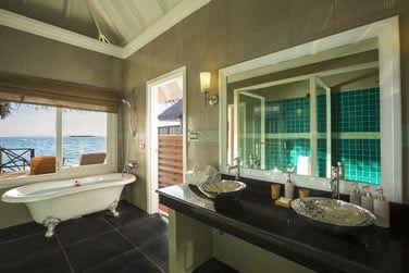 Et une salle des bain très agréable.