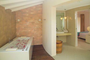 La villa plage Deluxe avec bain à remous