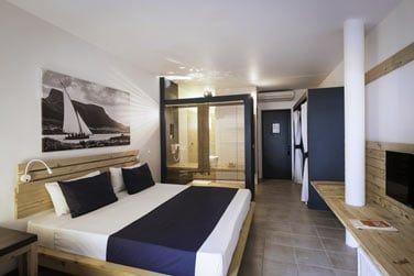 La chambre Confort au décor moderne et épuré