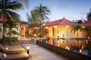 Faites une pause bien-être au Spa de l'hôtel Tamassa. Un havre de paix...