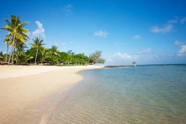 Un lagon calme et tranquille pour vous reposer à l'île Maurice