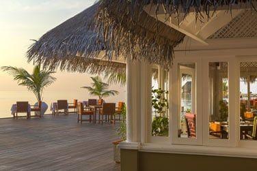 Voici le restaurant Lagoon, qui vous propose une cuisine internationale savoureuse