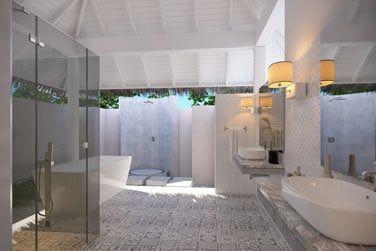 Et sa magnifique salle de bains.