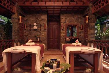 Salle de traitement au spa