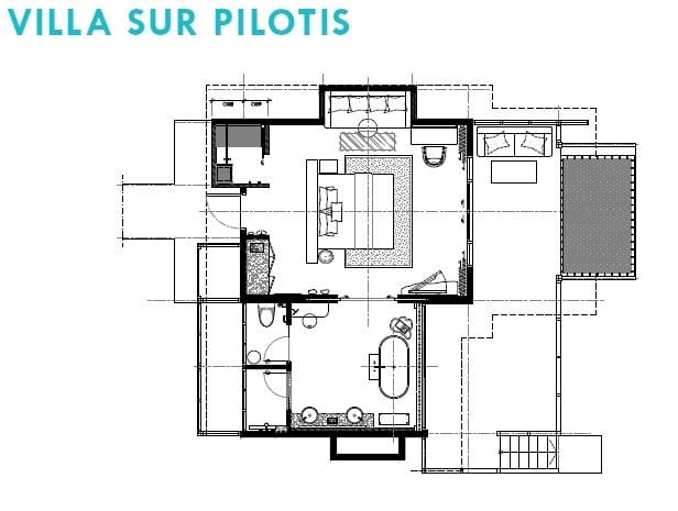 plan de maison sur pilotis trendy plan de maison sur