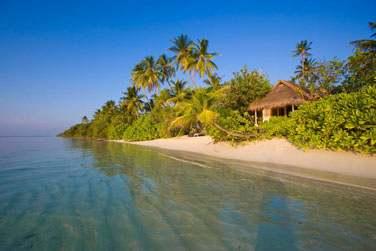 l'île est un véritable écrin de verdure posé au milieu de l'océan