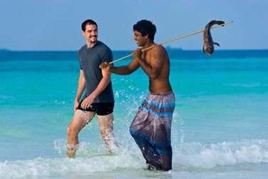 Découverte des techniques de pêche des Maldiviens