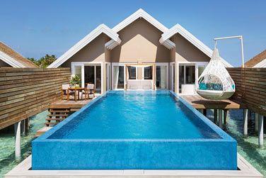 Et les villas pilotis Tentation avec piscine