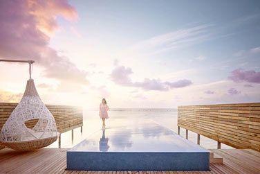 Des espaces de détente et une fabuleuse piscine