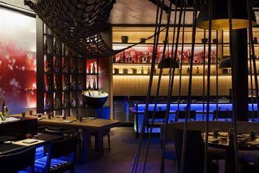 Le restaurant Umami proposant un comptoir Tepanyaki