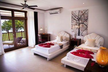 La chambre Deluxe à la décoration asiatique