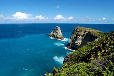 Superbe panorama de la Pointe de la Grande Vigie, Guadeloupe