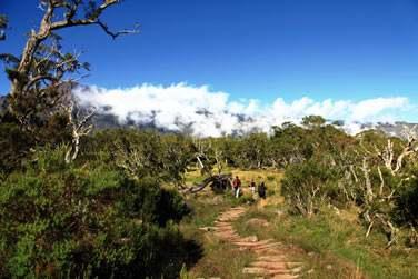 La randonnée dans Mafate
