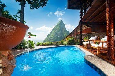 La vue depuis votre piscine privée