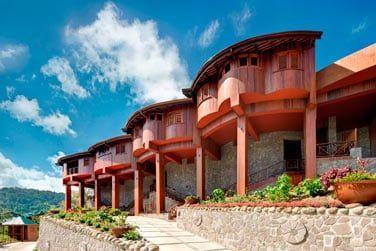 L'hôtel Ladera vous promet un séjour des plus confortables dans un cadre époustouflant