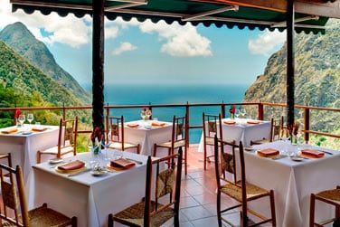 Il est tellement agréable de pouvoir déjeuner avec une telle vue .. imaginez !