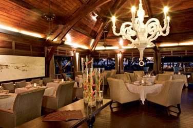 Le restaurant 'Orangine'