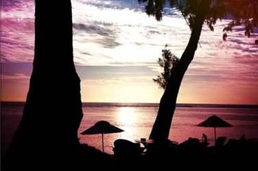Admirez le tranquillement au bord de la superbe plage de l'hôtel ! Moment romantique garanti !