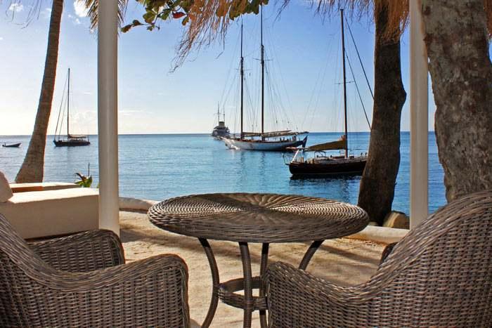 bungalow front de mer luxury