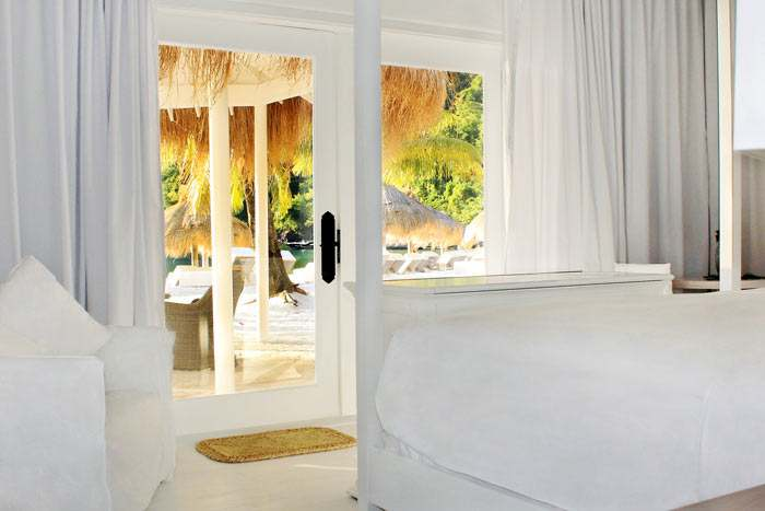bungalow front de mer (2 chambres)