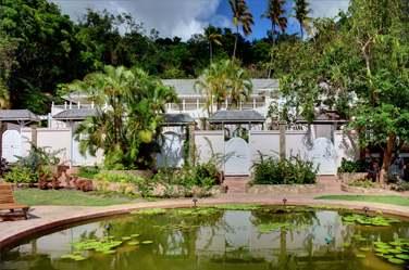 Des jardins luxuriants