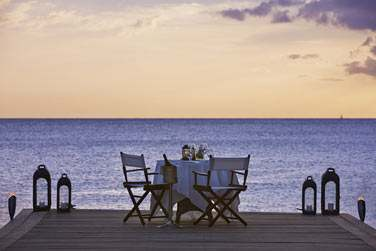 Offrez vous un dîner privatif sur la jetée