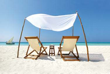 Ou de vous détendre sur le sable chaud face à la mer