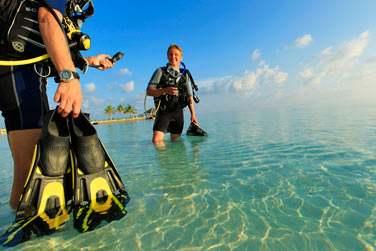 Vous êtes amateur de plongée ? Partez à la découverte des fonds maldiviens