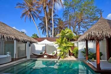 La piscine privée et espace extérieur de votre Pool Villa... Intimité garantie