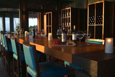 Le restaurant Altitude offrant une vue imprenable sur la mer