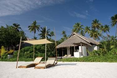 Extérieur de votre Island Villa à quelques pas de la plage
