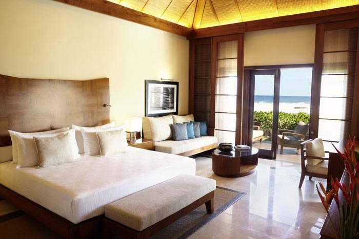 suite villa face à l'océan avec piscine (2 chambres)