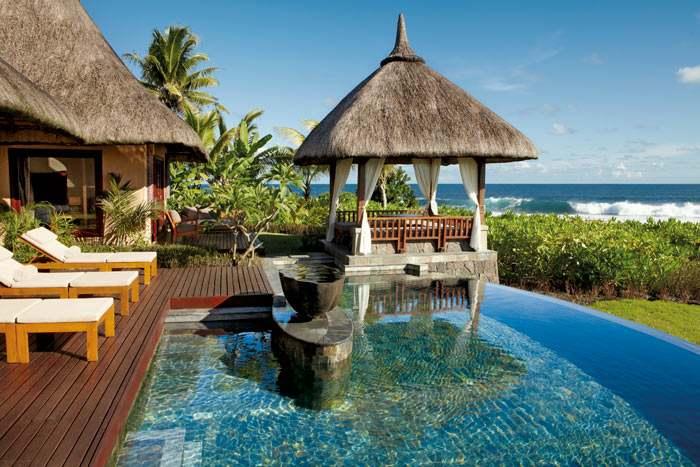 suite villa vue océan avec piscine (2 chambres)