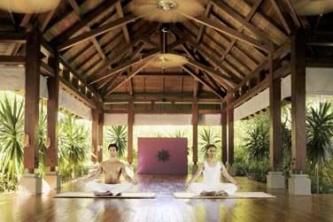 Le spa est également doté d'un bassin Watsu, de 2 pavillons de yoga...